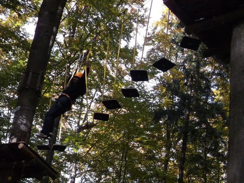 Kletterausrüstung Regensburg : Ausflug in den kletterwald priesterseminar regensburg st. wolfgang